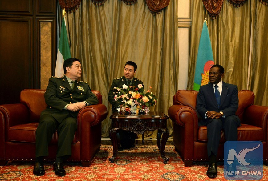 Equatorial Guinea president hails fruitful cooperation with China
