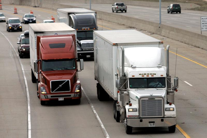 Image result for freight truck reuters