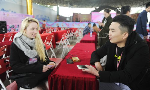 Matchmaking agency owners see China-Russia intermarriages from a Belt & Road perspective