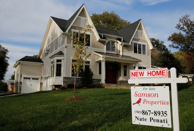 U.S. new home sales hit 5-month low; supply highest since 2009