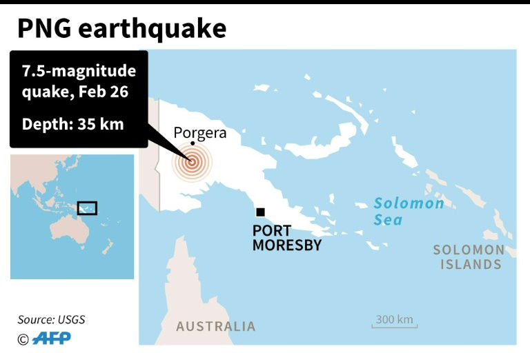 PNG troops respond to major 7.5 quake as aftershocks feared