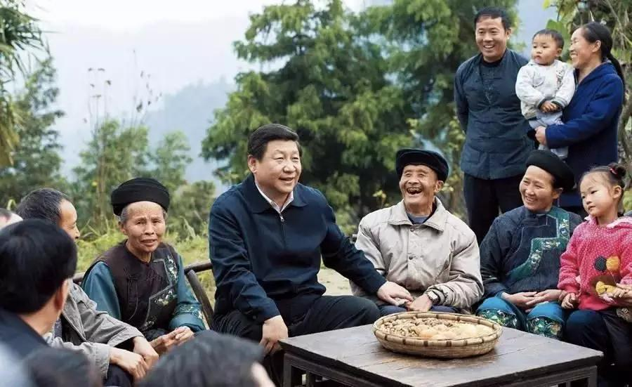 How does President Xi help the poor?