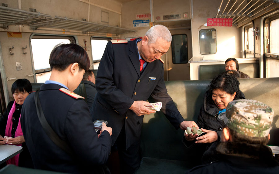 Slow train's vintage charms attract young passengers