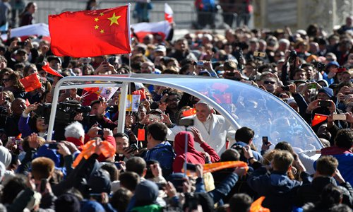 China-Vatican talks uphold historical legacy