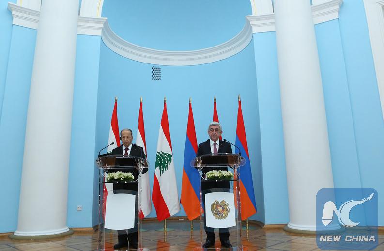 Lebanon, Armenia vow to enhance ties