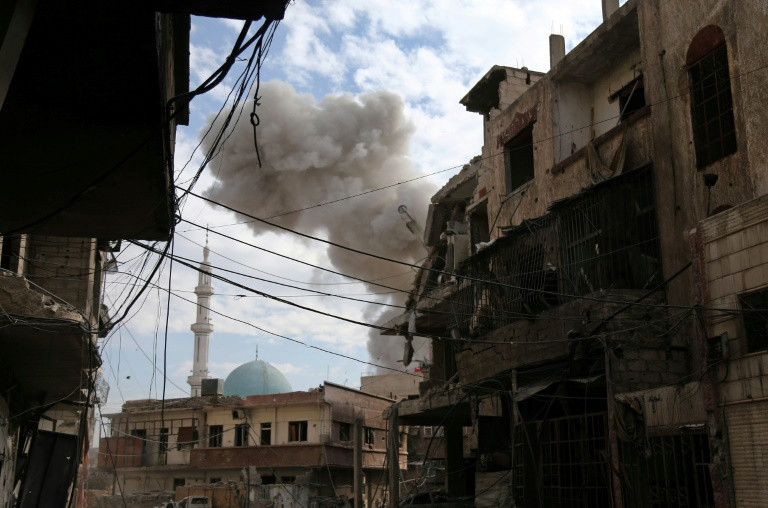 Fears and outrage over bloodshed in Syria enclave