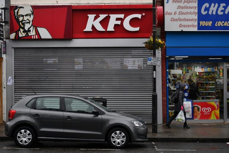 KFC counts its chickens as UK stores slowly reopen