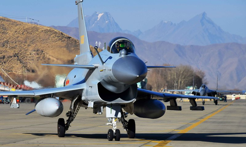 China upgrades airspace defense in west to counter threat from India