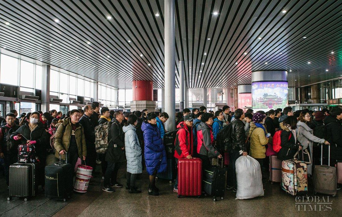 Image result for Chunyun global times