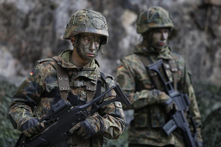 Image result for german military reuters