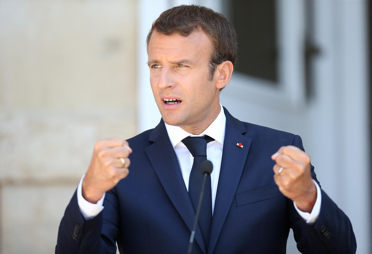Image result for macron reuters