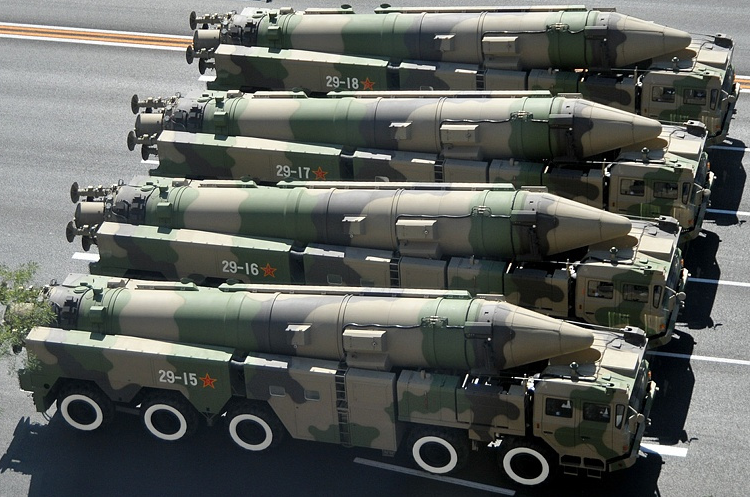 China reiterates non-first-use principle of nuclear weapon