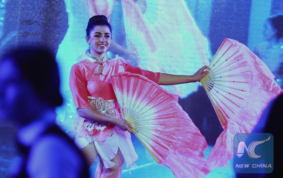 "Ukraine's ""cultural capital"" thrives on Spring Festival"