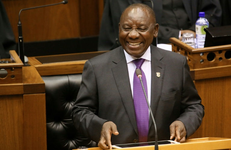 'New dawn' for S.Africa, says new president Ramaphosa