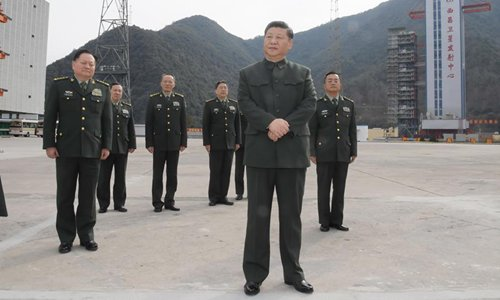 Xi visits BeiDou-3 launch site, extends festival greetings to all servicemen