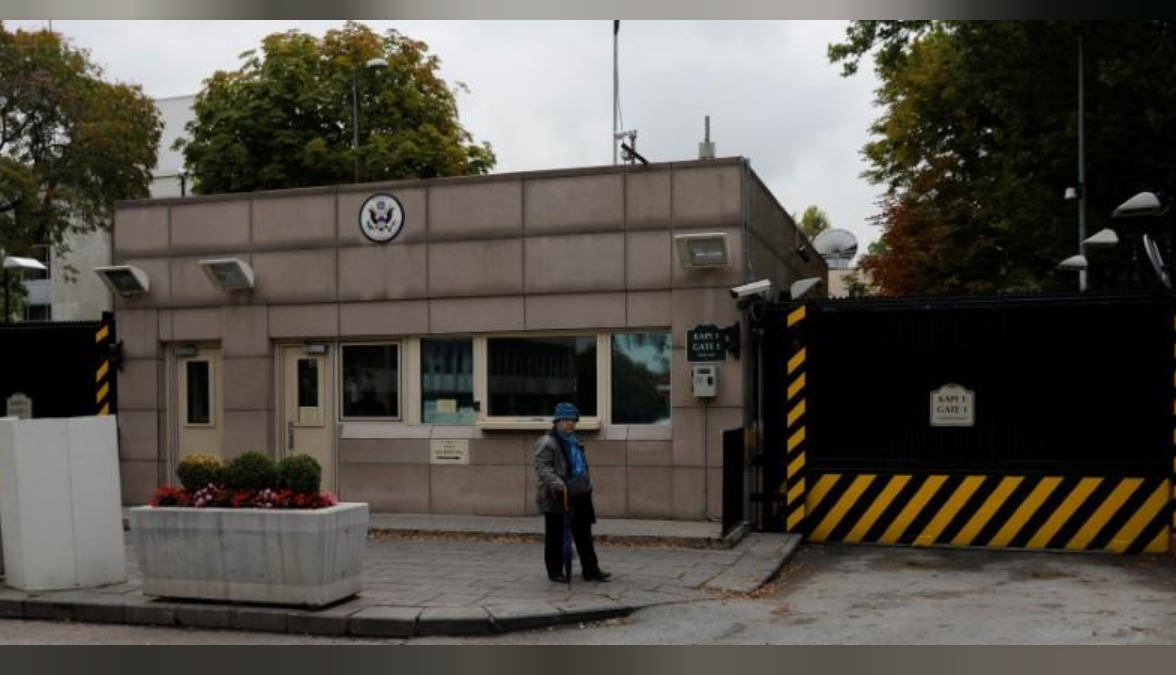 Turkey to name street by US Embassy after its Syrian offensive