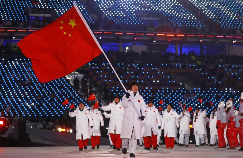 Yang Zhou of China. REUTERS/Kai Pfaffenbach