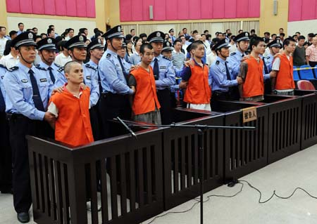 Man sentenced to death for murder in China