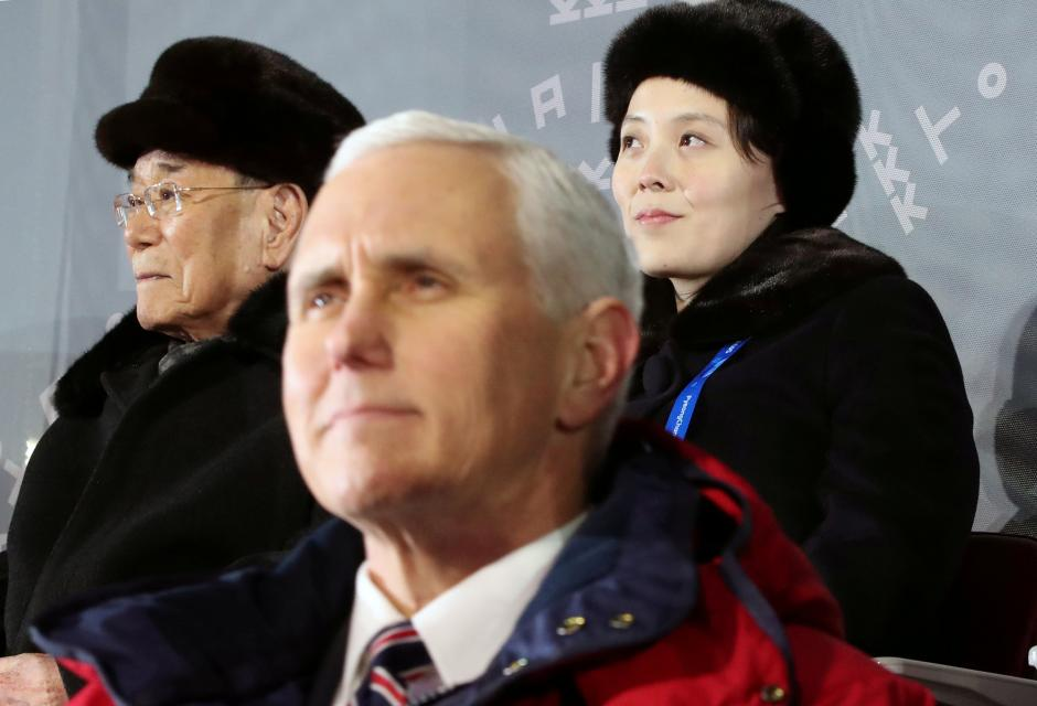 Image result for pence korea reuters