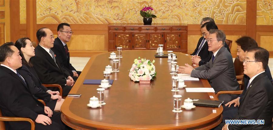 DPRK high-level delegation back home after visiting S.Korea