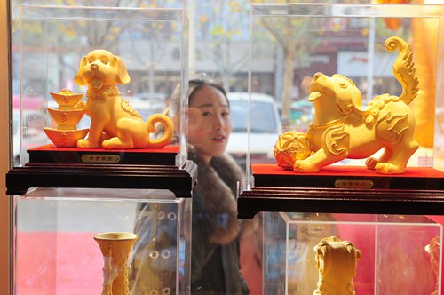 Holiday drives up gold demand
