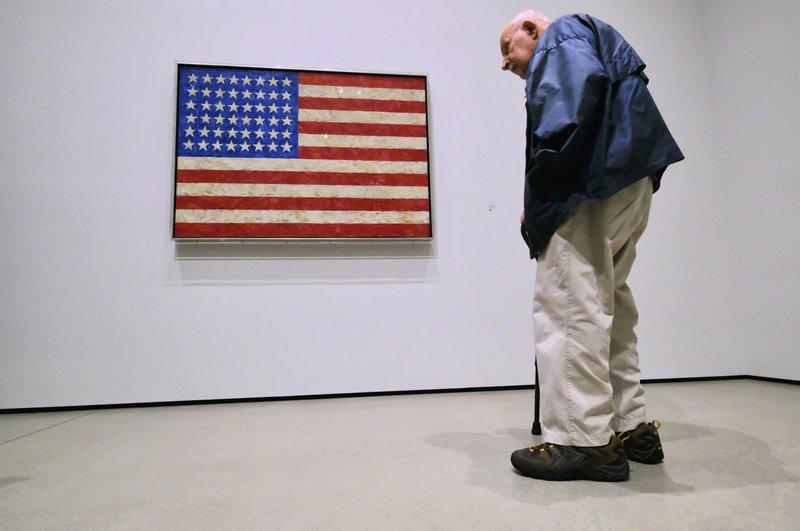LA art museum unveils wide-ranging tribute to Jasper Johns