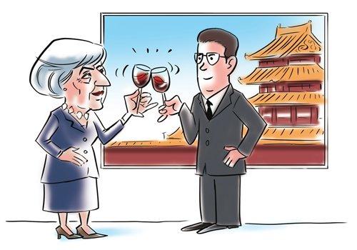 After May's visit, China, UK eye new future