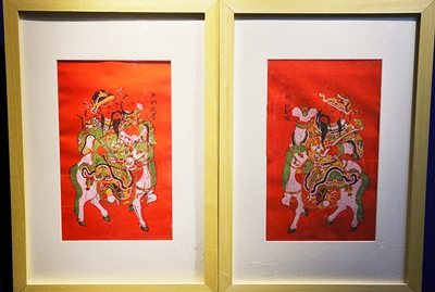 Traditional New Year paintings in focus at new exhibition