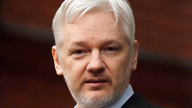 Julian Assange took refuge in the Ecuadorian Embassy in London in 2012 to escape extradition to Sweden, and has been living there ever since.