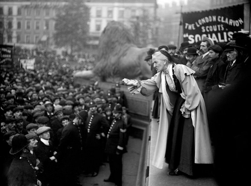 UK will consider pardons for convicted suffragettes