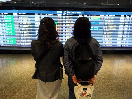 Thousands stranded for Spring Festival as cross-Straits flights cancelled