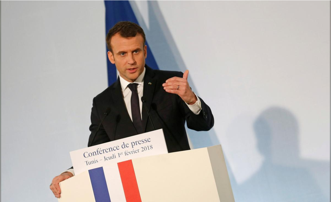 After Turkish anger, France's Macron plays down Syria warning