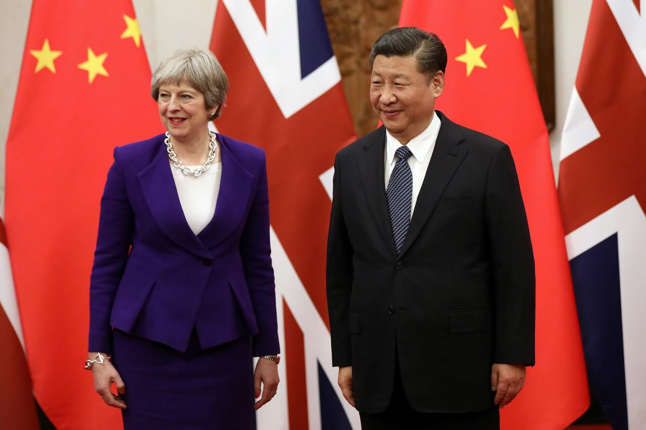 Image result for china uk reuters