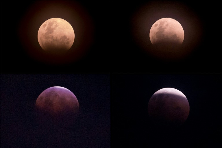 There's a 'super blue blood Moon' on the rise