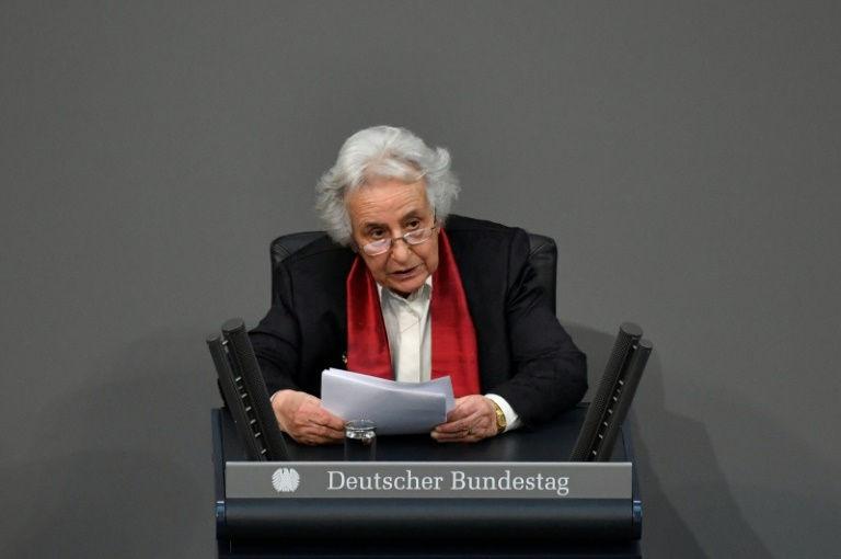Auschwitz survivor warns German parliament of hate's return