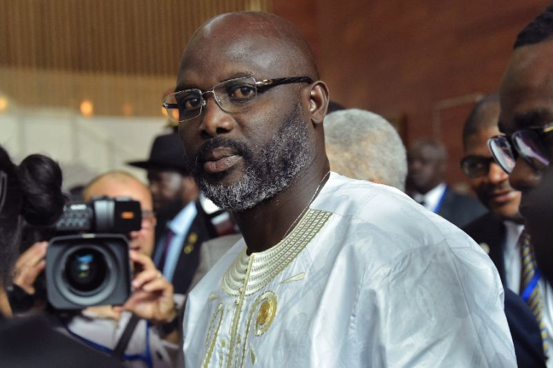 Liberian President George Weah want to alter the country's constitution