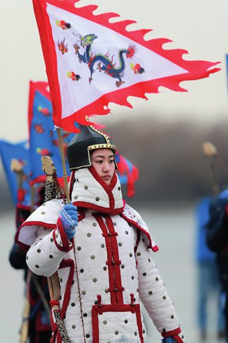 Blade lovers brave the cold to put on a royal skating extravaganza at scenic spots in Beijing - Global Times