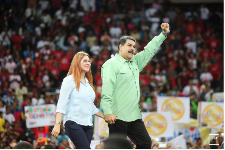 Venezuela's Maduro launches election campaign with more reggaeton, less Chavez