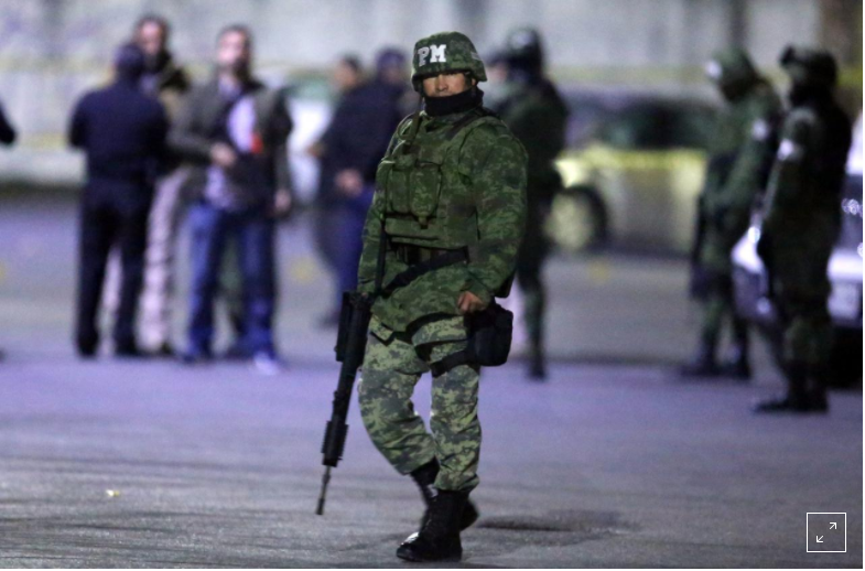 Mexico to send troops to stem violence after record 25,000 murders