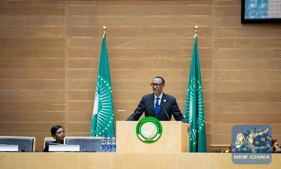 Rwandan president Kagame's new role: AU chair