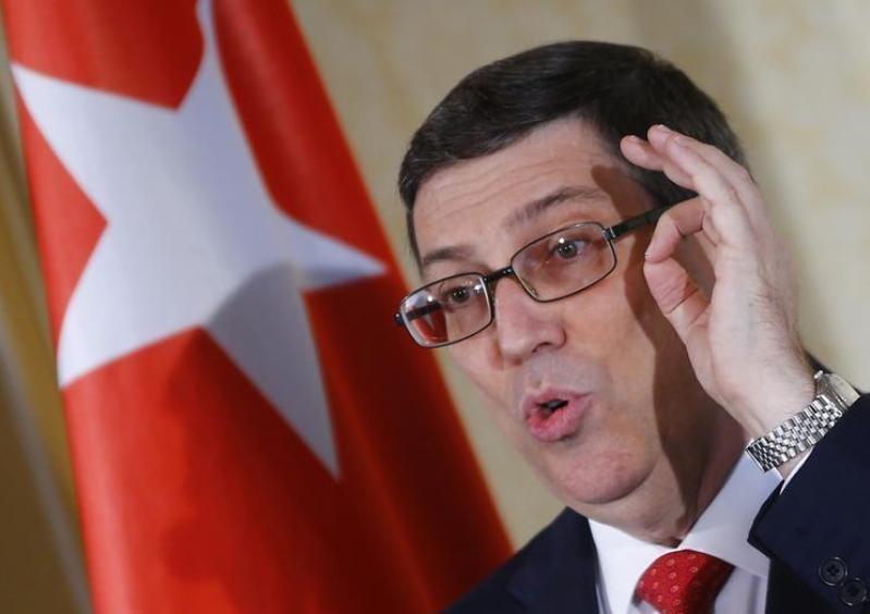 Cuban FM receives U.S. congressional delegation