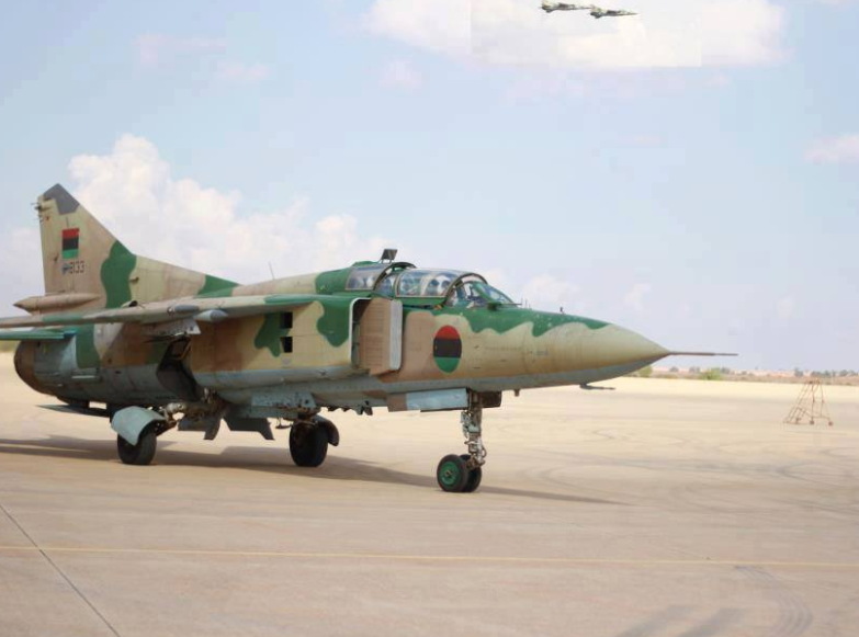 Libyan air force attacks terrorist stronghold in eastern city