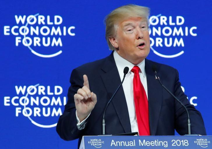US economic nationalism a hard sell in Davos