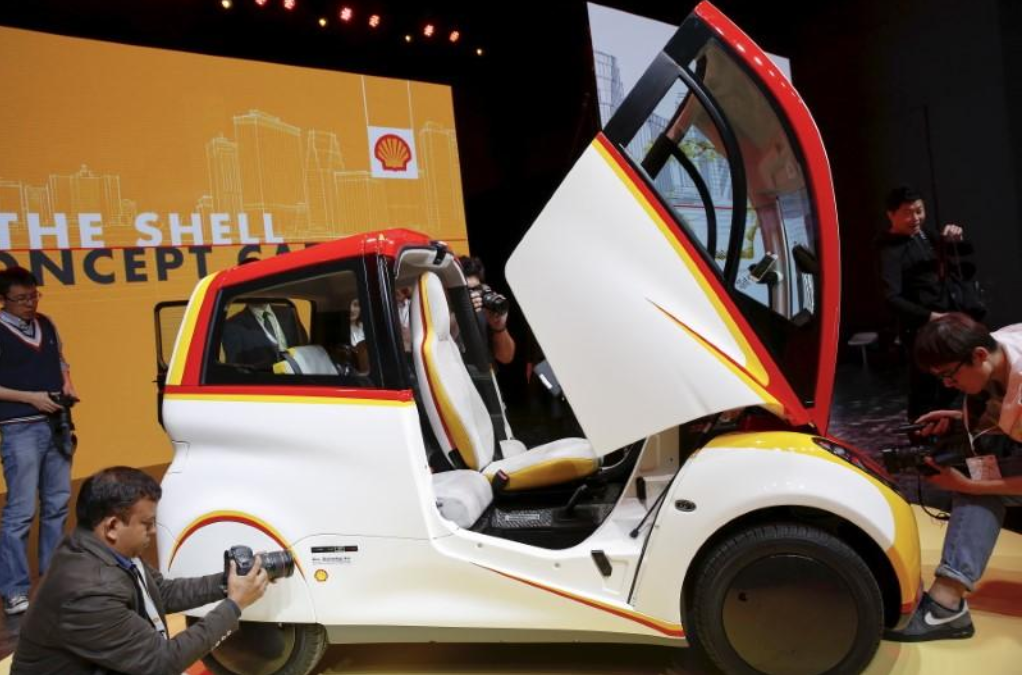 Shell buying spree cranks up race for clean energy