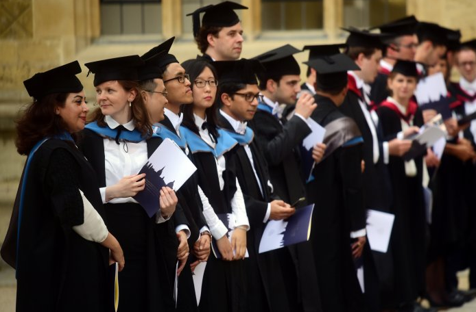 Women beat men for places at Oxford University for first time