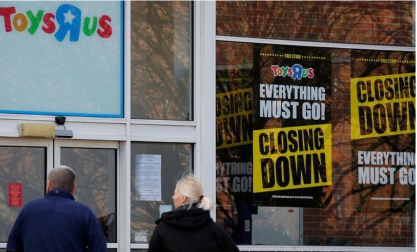 Toys 'R' Us demise could spur merger boom in US toy market