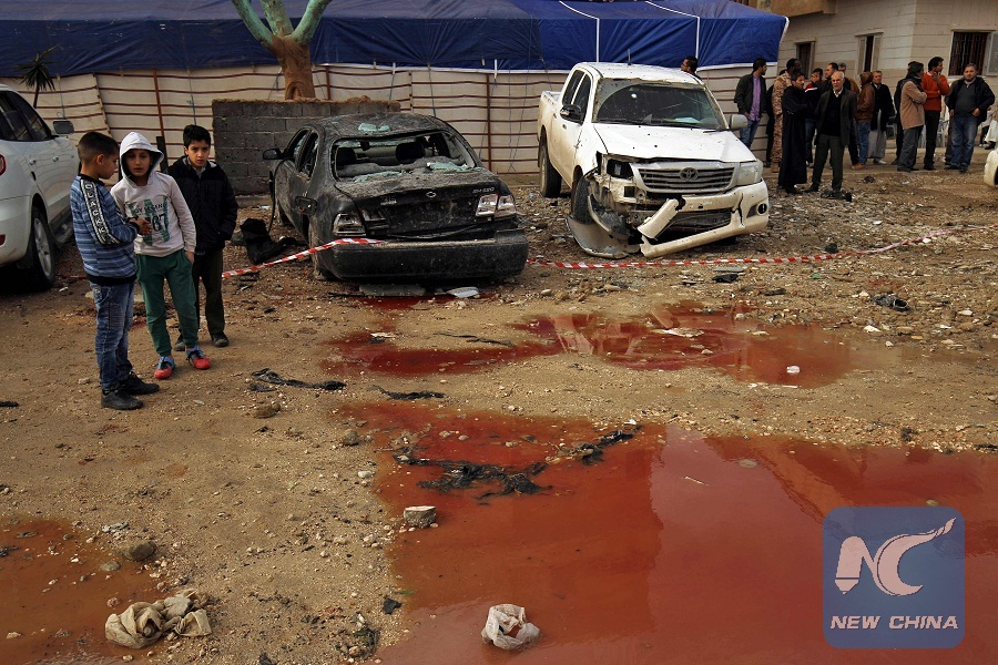 34 killed in twin car bomb attacks in Libya's Benghazi