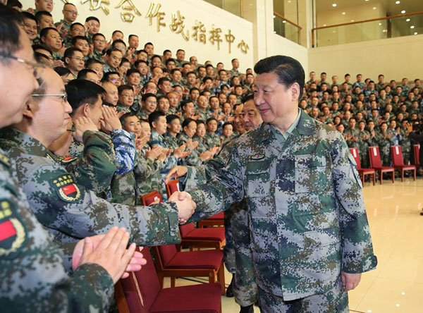 China issues new training guideline for military