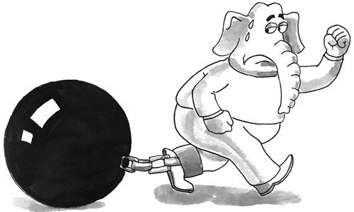 Indian hierarchy system stifles development