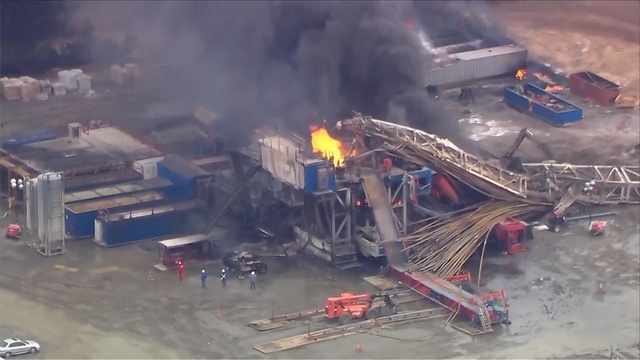 Five bodies recovered in Oklahoma oil well explosion